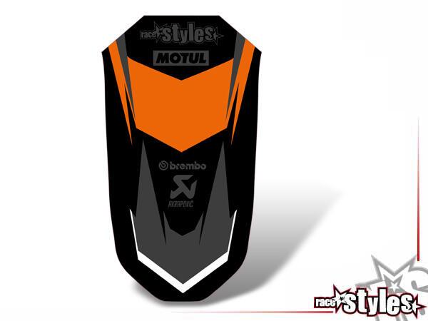 Kotflügel Dekor für KTM Super Adventure 1290 Modelle (2015-2019).