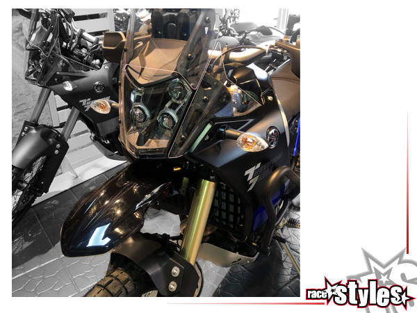 Kotflügel für Rally-Optik verfügbar in der Farbe: schwarz, weiß oder blau. Ausführung ohne/mit Anba