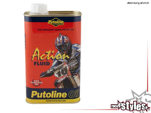 Luftfilteröl ActionFluid 1L von PUTOLINE. Die einzigartige Zusammensetzung stellt kompetenten Schut