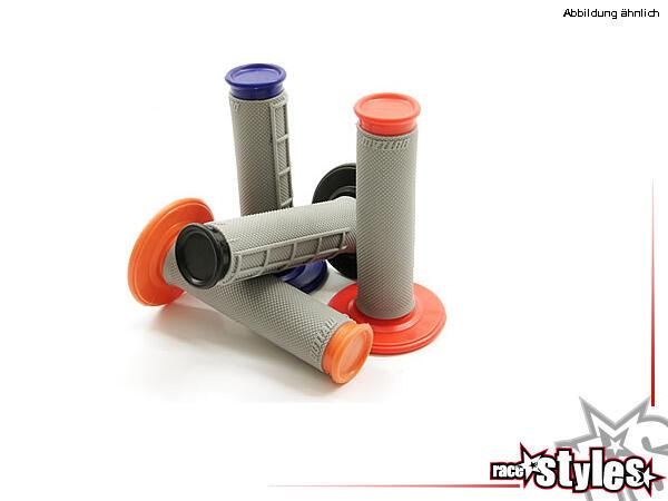 Griffgummi ZAP DUAL in verschiedenen Farben. Hochwertiger 2-Komponenten MX-Griffgummi in halbwaffel