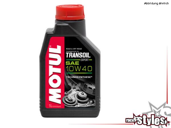 Motul Transoil 10W-40 2T vollsynth. Ester (EXPERT). Vollsynthetisches Spezialmehrbereichsgetriebeöl