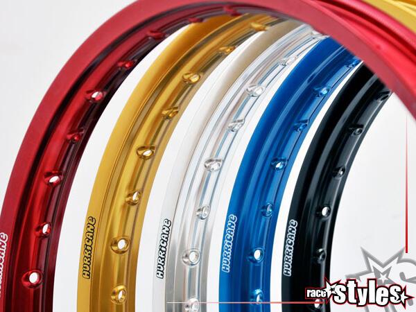 Hinterer EXCEL-FELGENRING für verschiedene Motorradmodelle. In verschiedenen Farben lieferbar. (geb