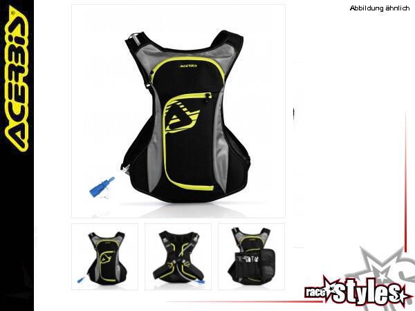Acerbis Trinkrucksack ACQUA mit 2 Liter Trinkblase, Rückenteil aus atmungsaktivem Gewebe, Trinksack